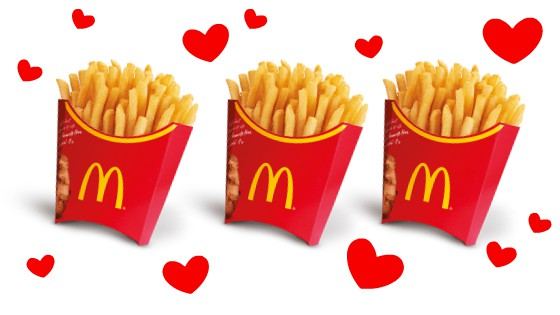 McDonald's Japan Is Using Their Famous Fries To Share This Body Positive Message