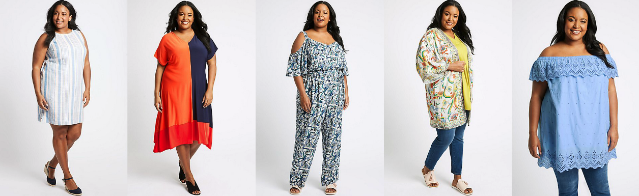 5 Top Picks From The M&S Curve Summer Collection